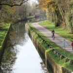 photo canal cycliste