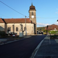 place et eglise