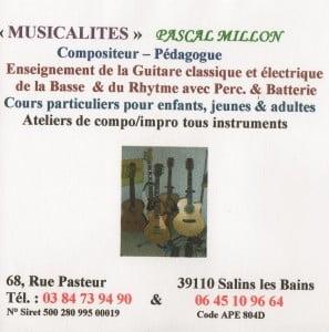 guitare P. Millon