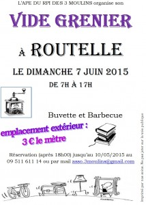 2015-06 Affiche vide grenier pour villageois